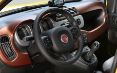 Fiat Panda Cross 2014 Interior FrontSeatDriver.co.uk