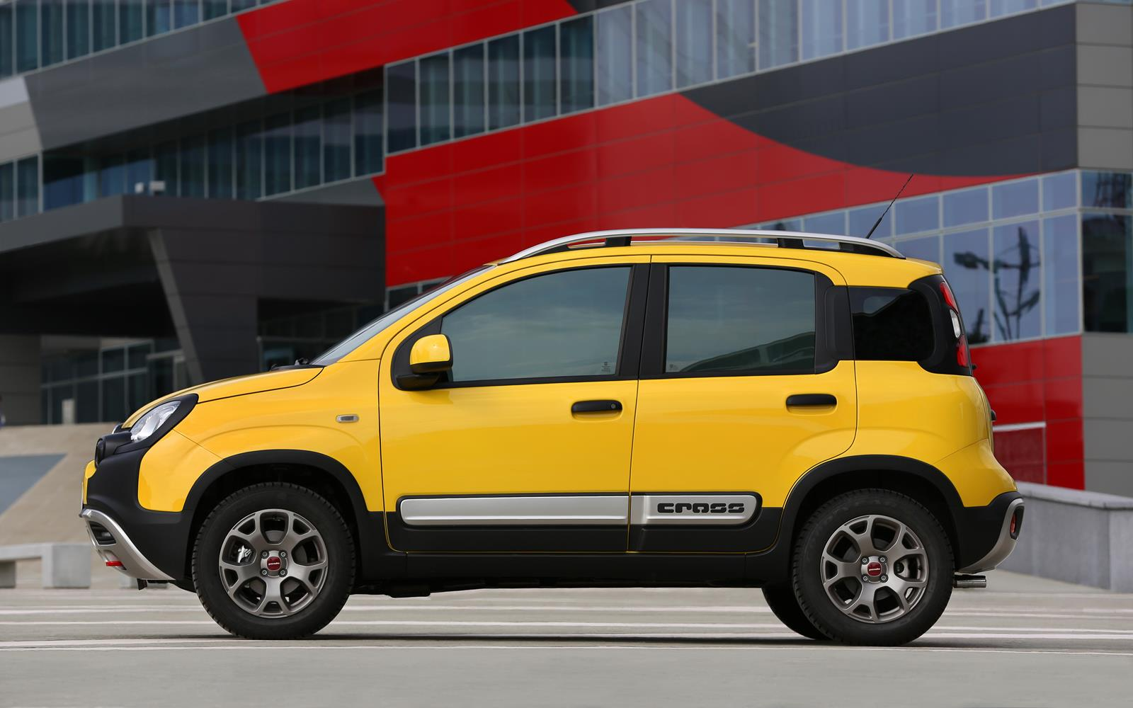 fiat panda cross 2014 profile. Black Bedroom Furniture Sets. Home Design Ideas