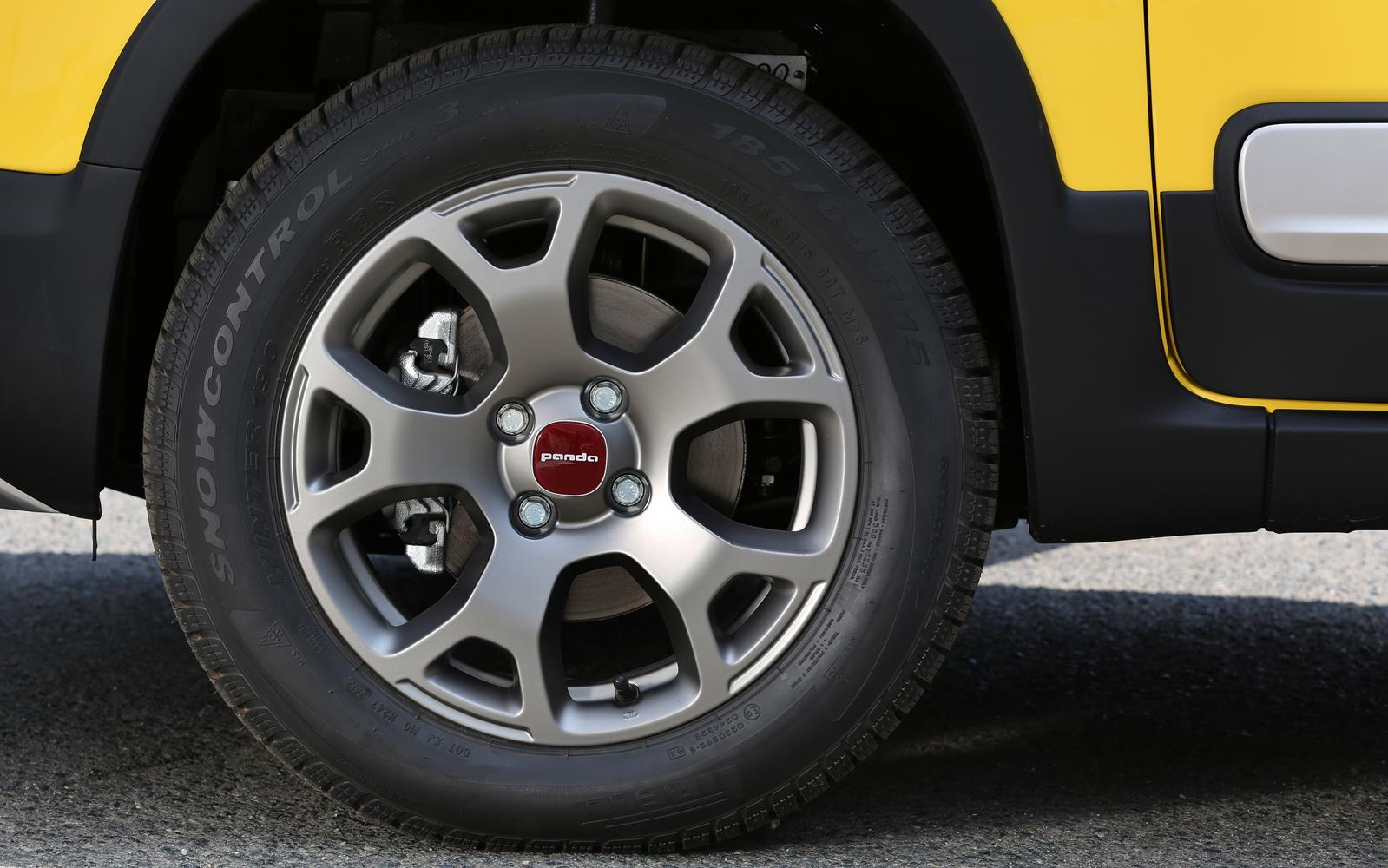 Fiat Panda Cross 2014 Wheel Detail FrontSeatDriver.co.uk
