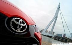 Toyota Aygo 2014 Badge Detail Phil Huff FrontSeatDriver.co.uk