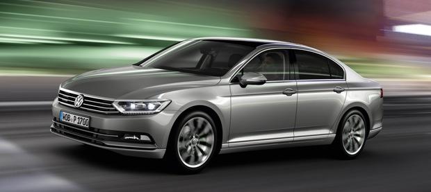 Volkswagen Passat 2014 620x277