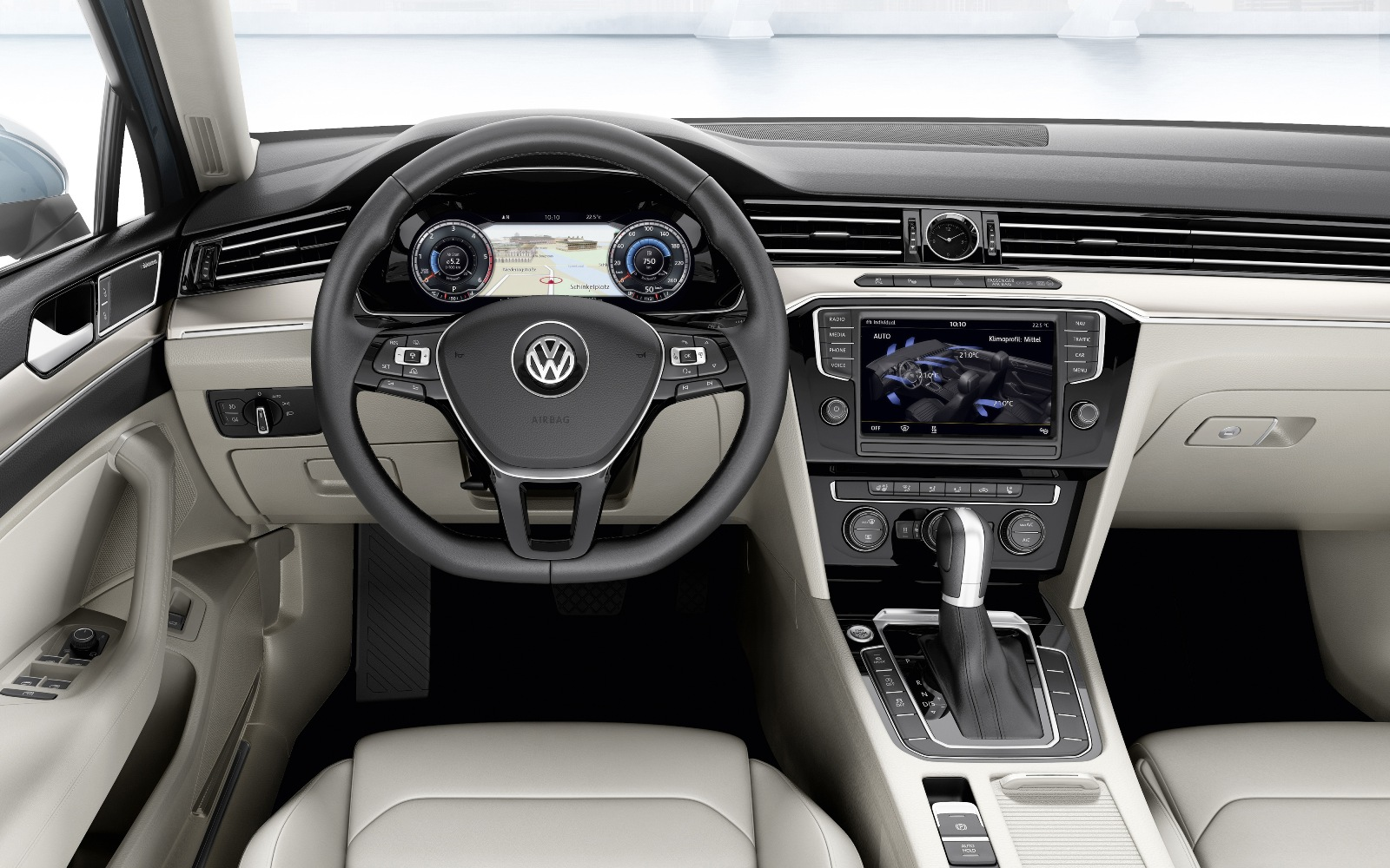 Volkswagen Passat 2014 Dashboard FrontSeatDriver.co.uk