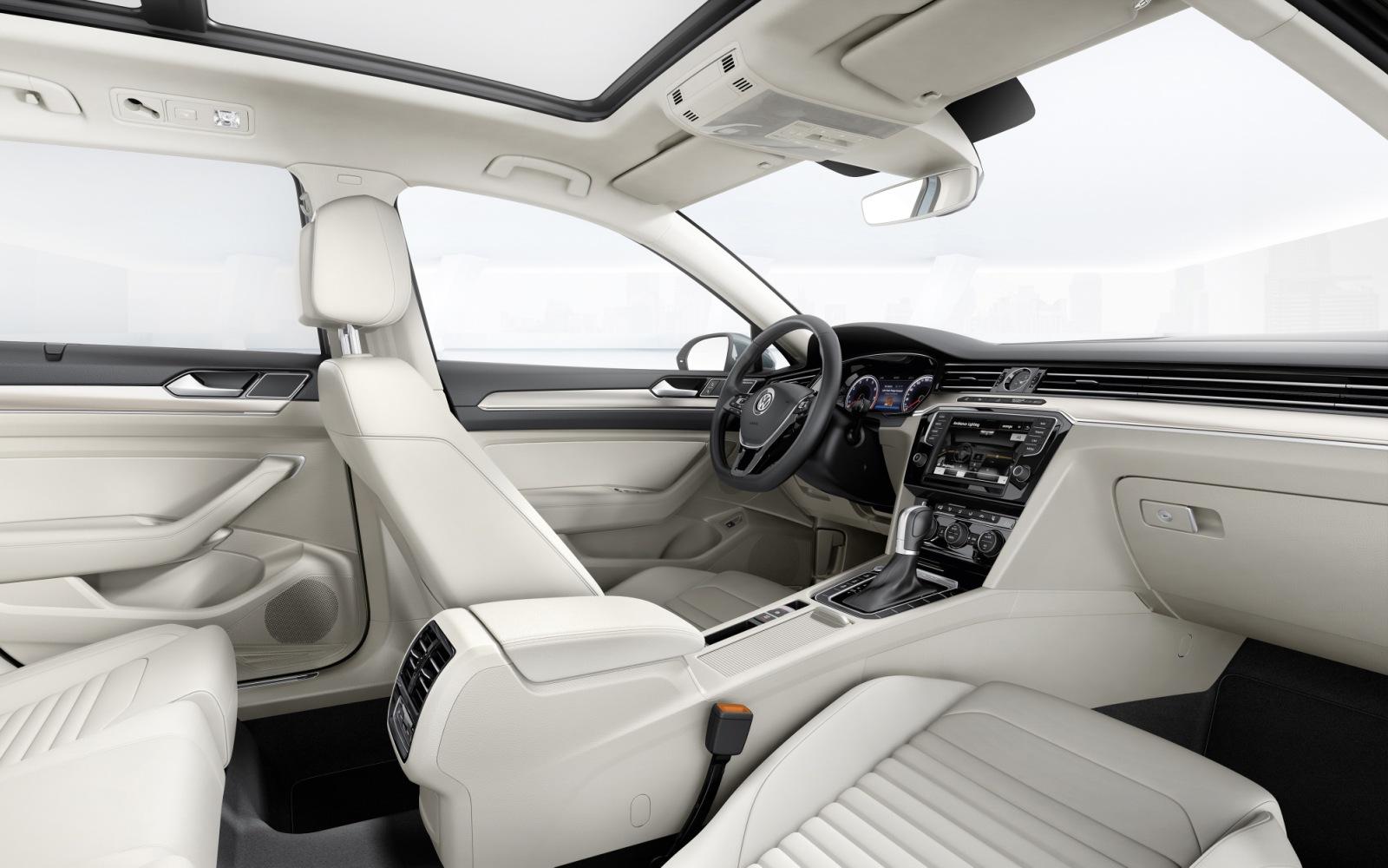 Volkswagen Passat 2014 Interior Front FrontSeatDriver.co.uk
