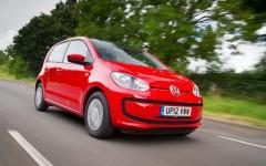 Volkswagen up! 2014 Front Dynamic FrontSeatDriver.co.uk