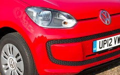 Volkswagen up! 2014 Grille Detail FrontSeatDriver.co.uk