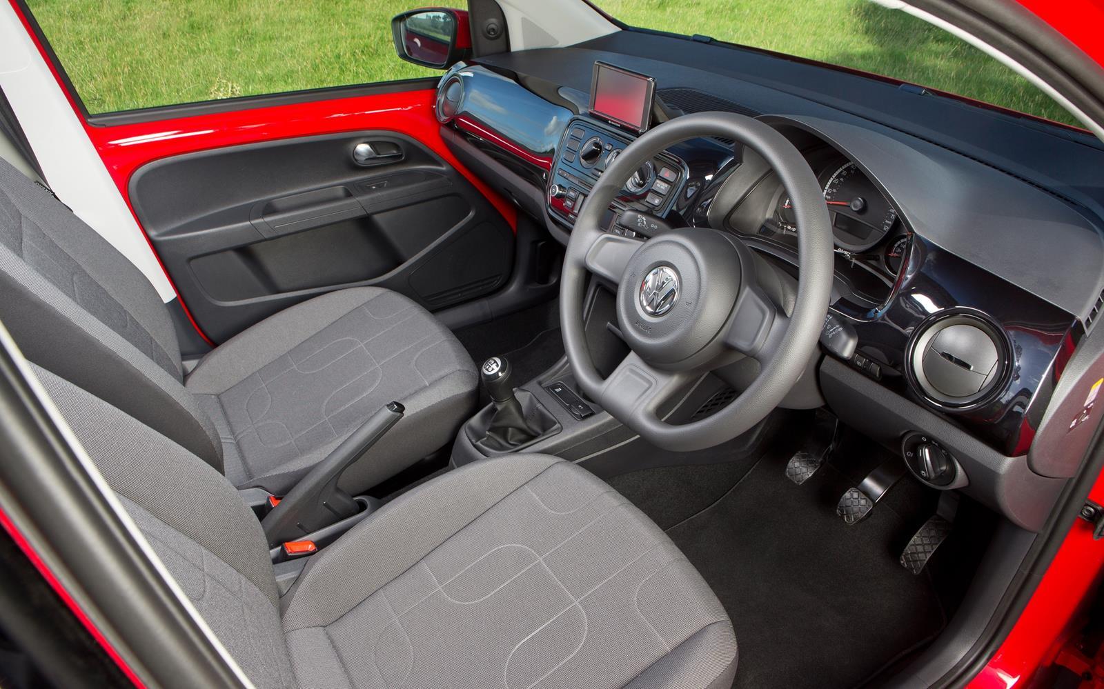 Volkswagen up! 2014 Interior FrontSeatDriver.co.uk