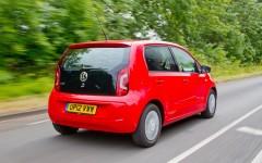 Volkswagen up! 2014 Rear Dynamic FrontSeatDriver.co.uk