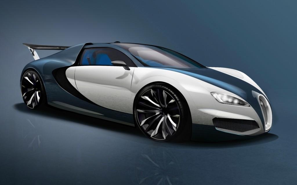 Bugatti Veyron Concept 2014 Front Profile