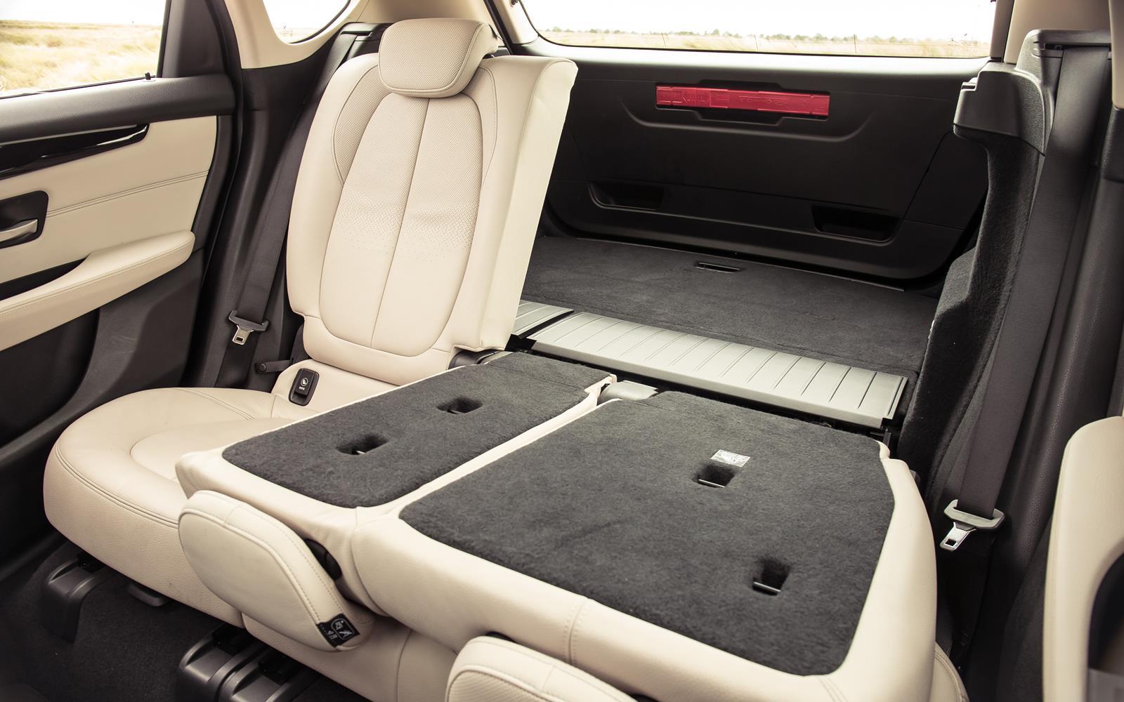 Bmw 2 Series Active Tourer 2014 Boot Split Fold Rear Seat