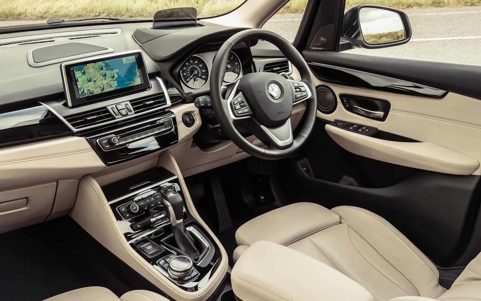BMW 2 Series Active Tourer 2014 Dashboard FrontSeatDriver.co.uk