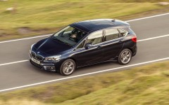 BMW 2 Series Active Tourer 2014 Dynamic On Road Front FrontSeatDriver.co.uk