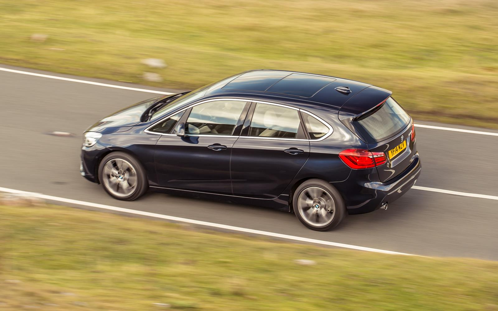 BMW 2 Series Active Tourer 2014 Dynamic On Road Rear FrontSeatDriver.co.uk