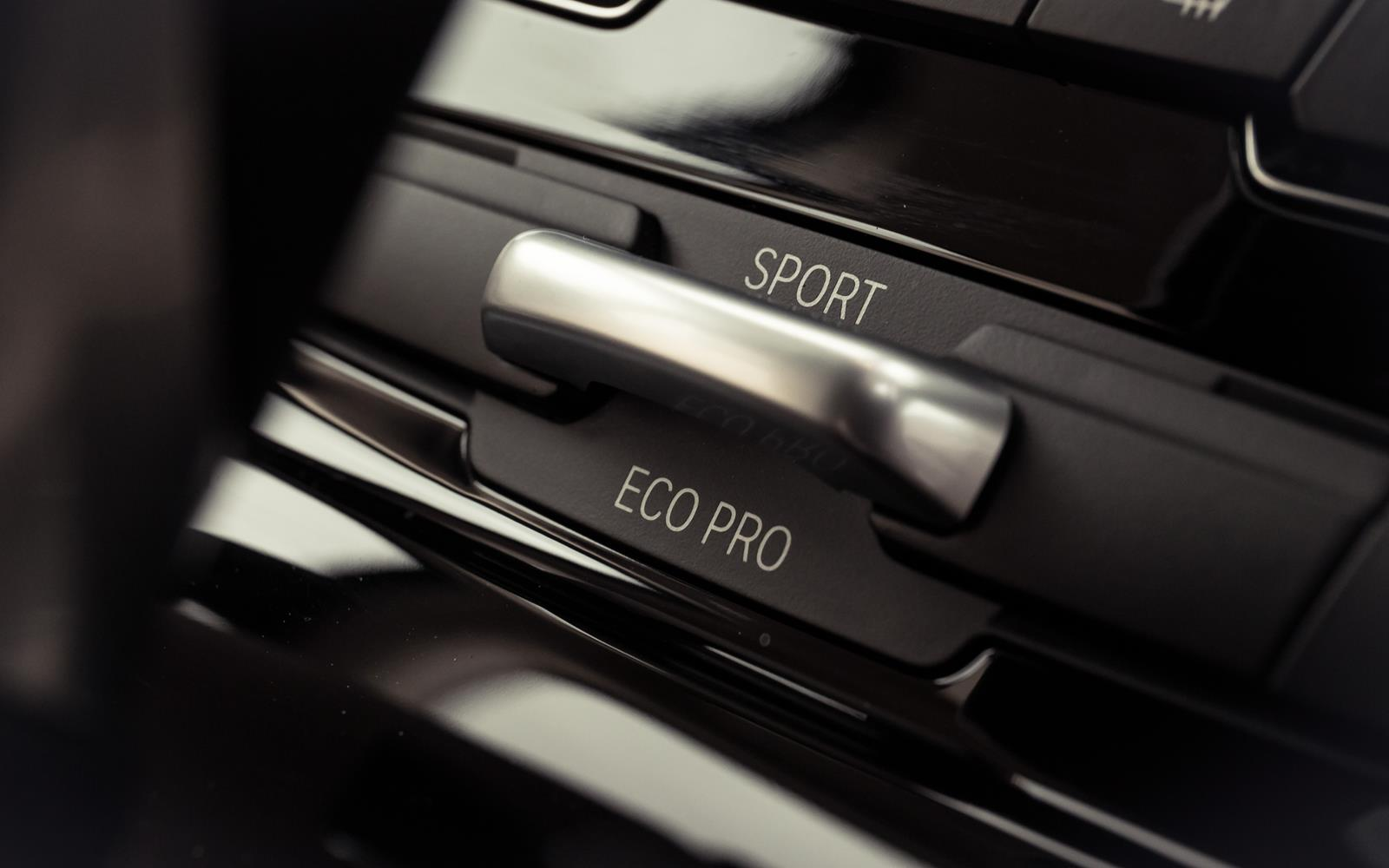 BMW 2 Series Active Tourer 2014 Eco Switch Detail FrontSeatDriver.co.uk