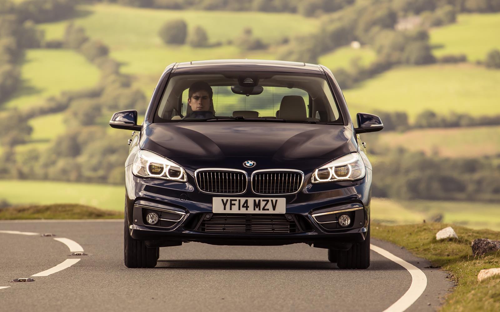 BMW 2 Series Active Tourer 2014 Front FrontSeatDriver.co.uk