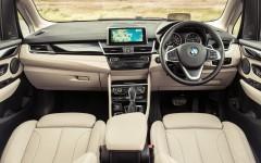 BMW 2 Series Active Tourer 2014 Interior Front FrontSeatDriver.co.uk