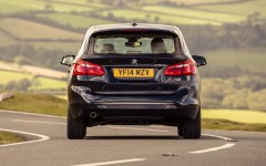 BMW 2 Series Active Tourer 2014 Rear FrontSeatDriver.co.uk