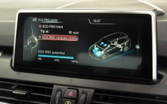 BMW 2 Series Active Tourer 2014 Screen Detail FrontSeatDriver.co.uk