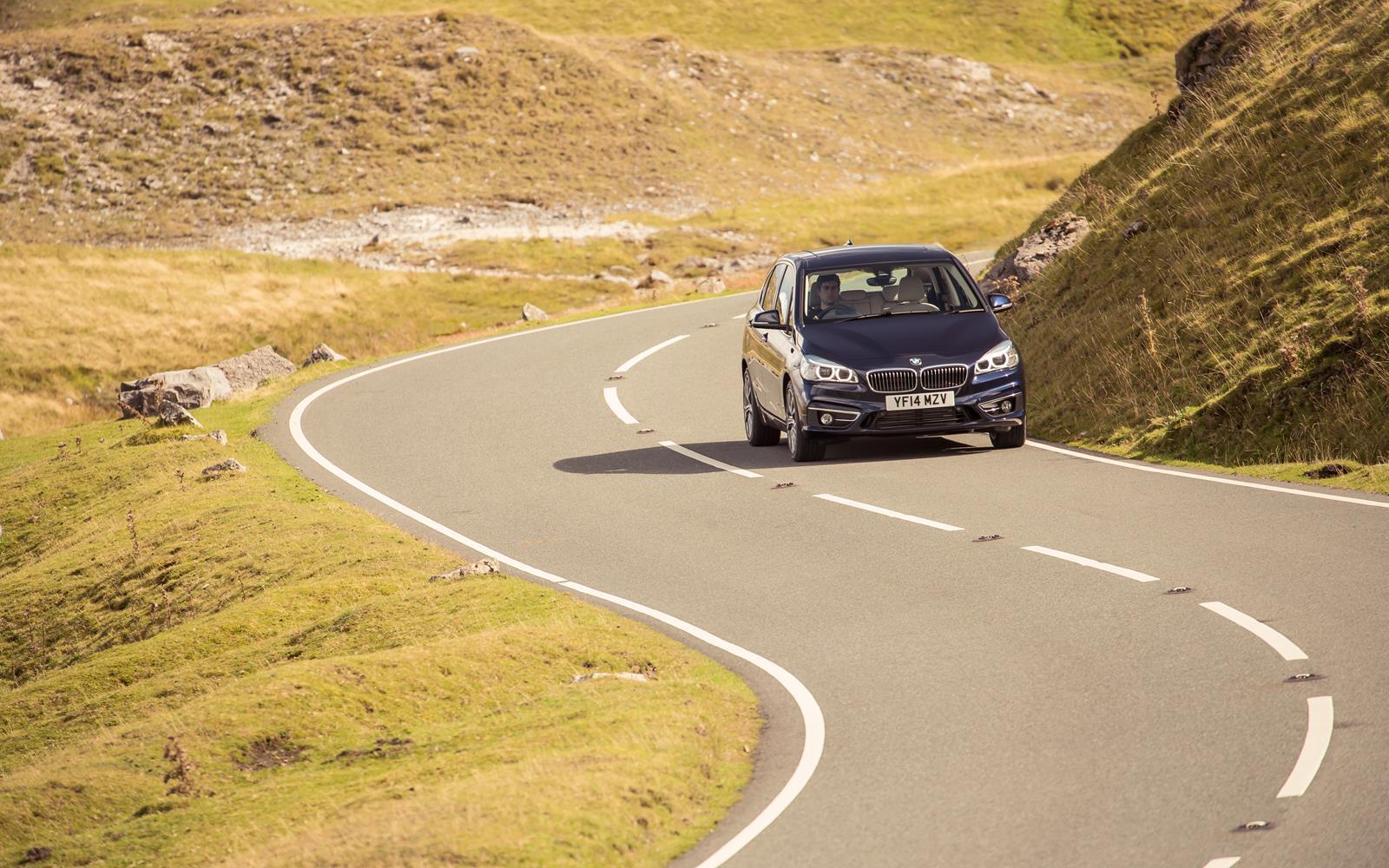 BMW 2 Series Active Tourer 2014 Sweeping Bends FrontSeatDriver.co.uk