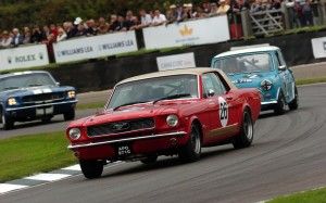 Goodwood Revival 2014 Ford Mustang FrontSeatDriver.co.uk