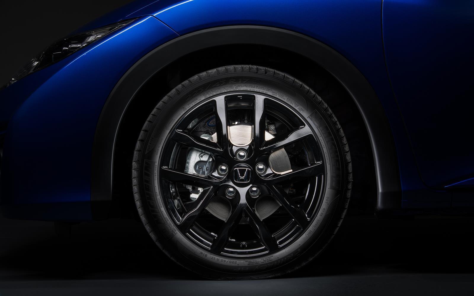 Honda Civic Sport 2014 Alloy Wheel Detail Frontseatdriver