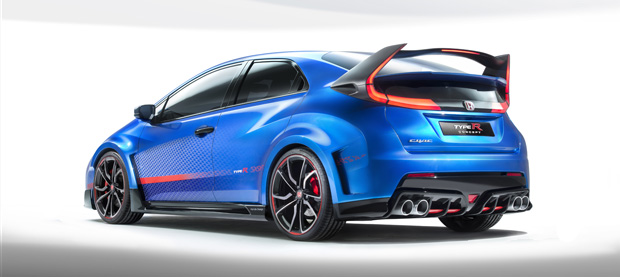 Honda Civic Type-R Concept 2014 620x277