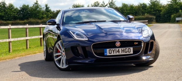 Jaguar F-Type V6 S Coupe2014 620x277