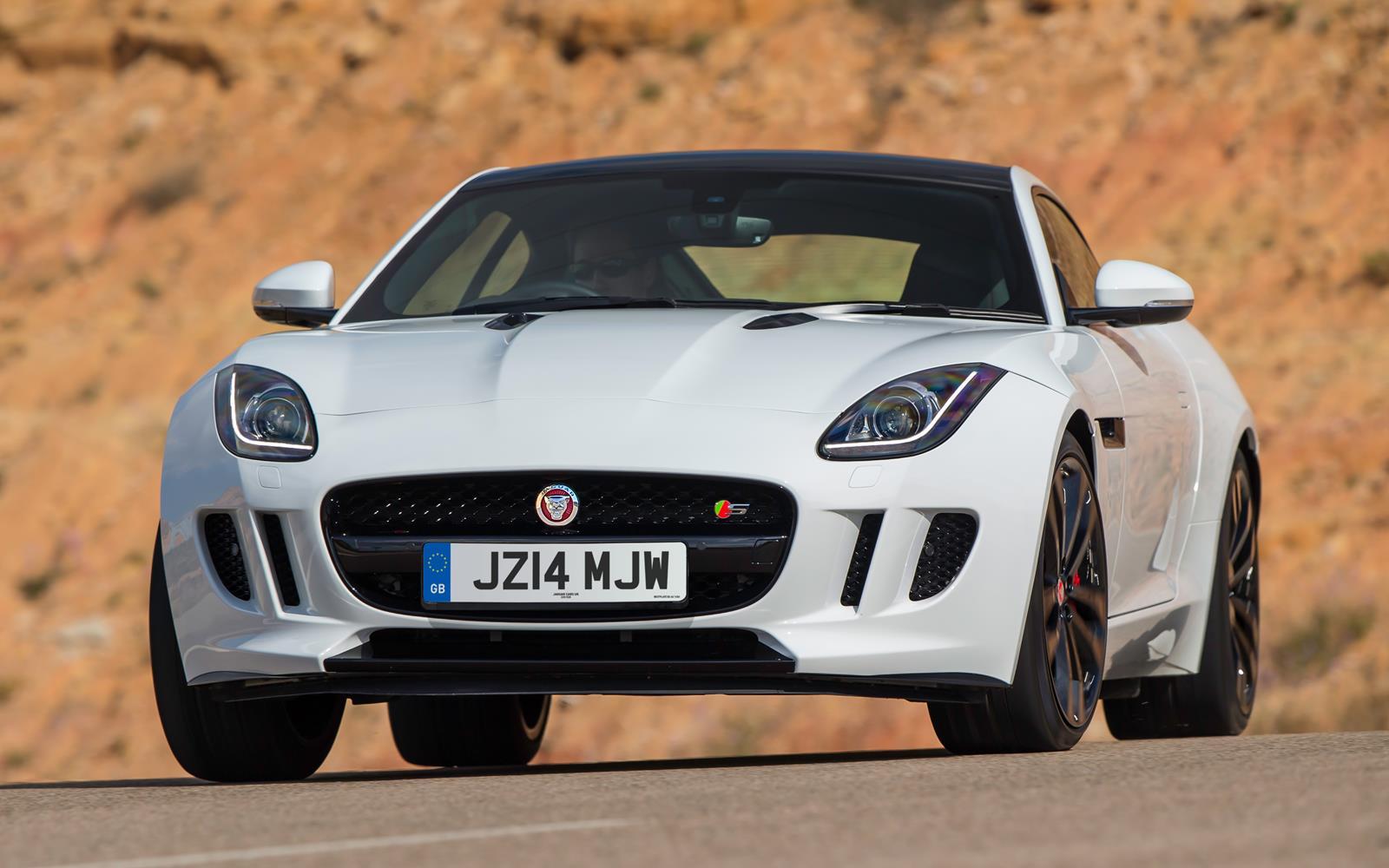 Jaguar F-Type V6 S Coupe2014 Front Dynamic FrontSeatDriver.co.uk