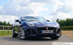 Jaguar F-Type V6 S Coupe2014 Front Phil Huff FrontSeatDriver.co.uk