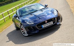 Jaguar F-Type V6 S Coupe2014 High Front Phil Huff FrontSeatDriver.co.uk