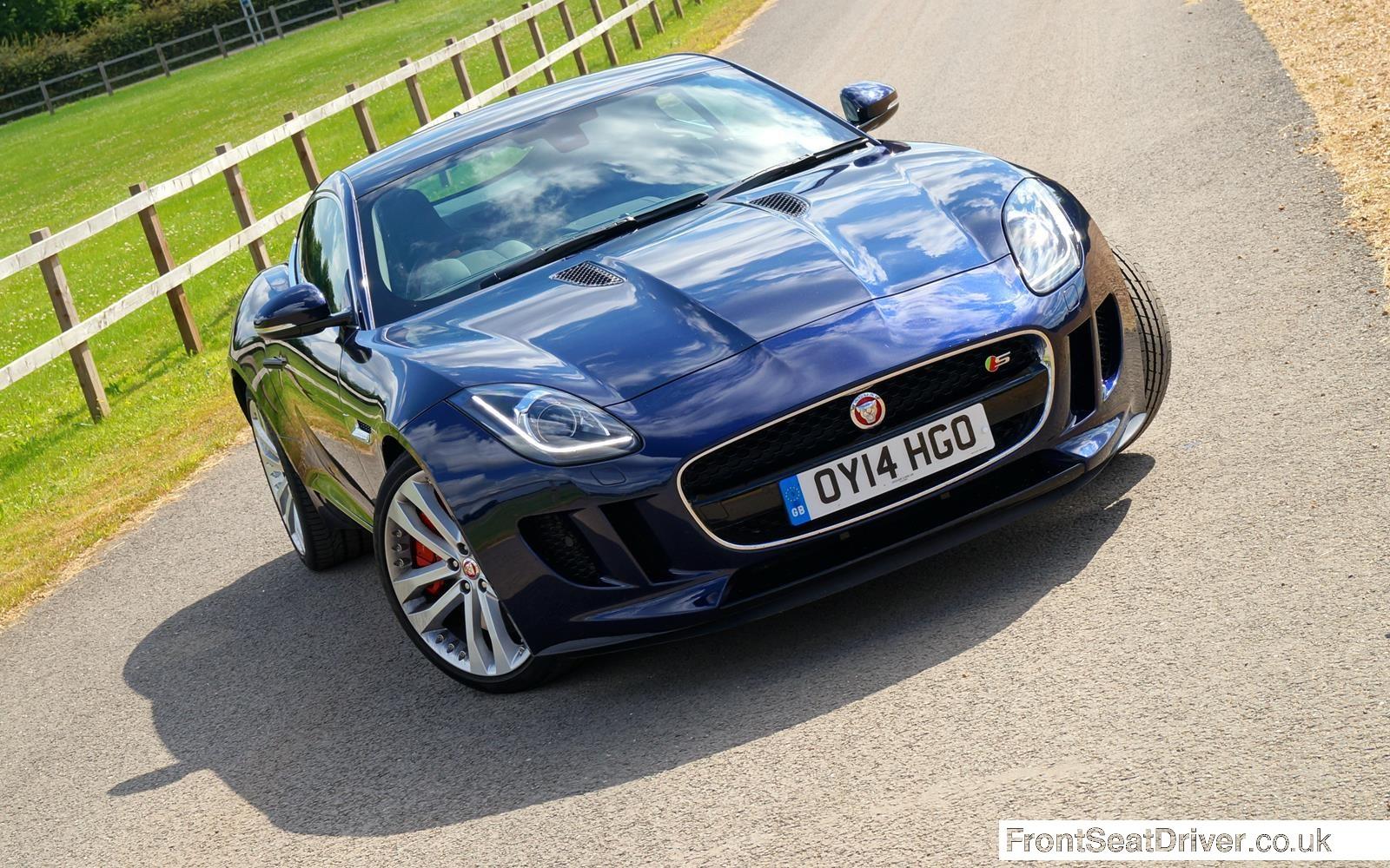 Jaguar F-Type V6 S Coupe2014 High Front Phil Huff FrontSeatDriver.co.uk