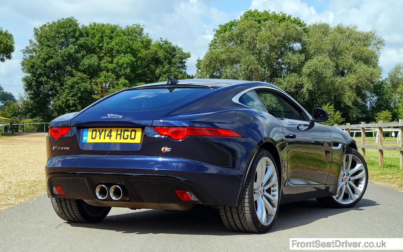 Jaguar F Type V6 S Coupe2014 Rear Phil Huff Frontseatdriver Co Uk Front Seat Driver
