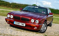 Jaguar XJ8 1998 Front FrontSeatDriver.co.uk