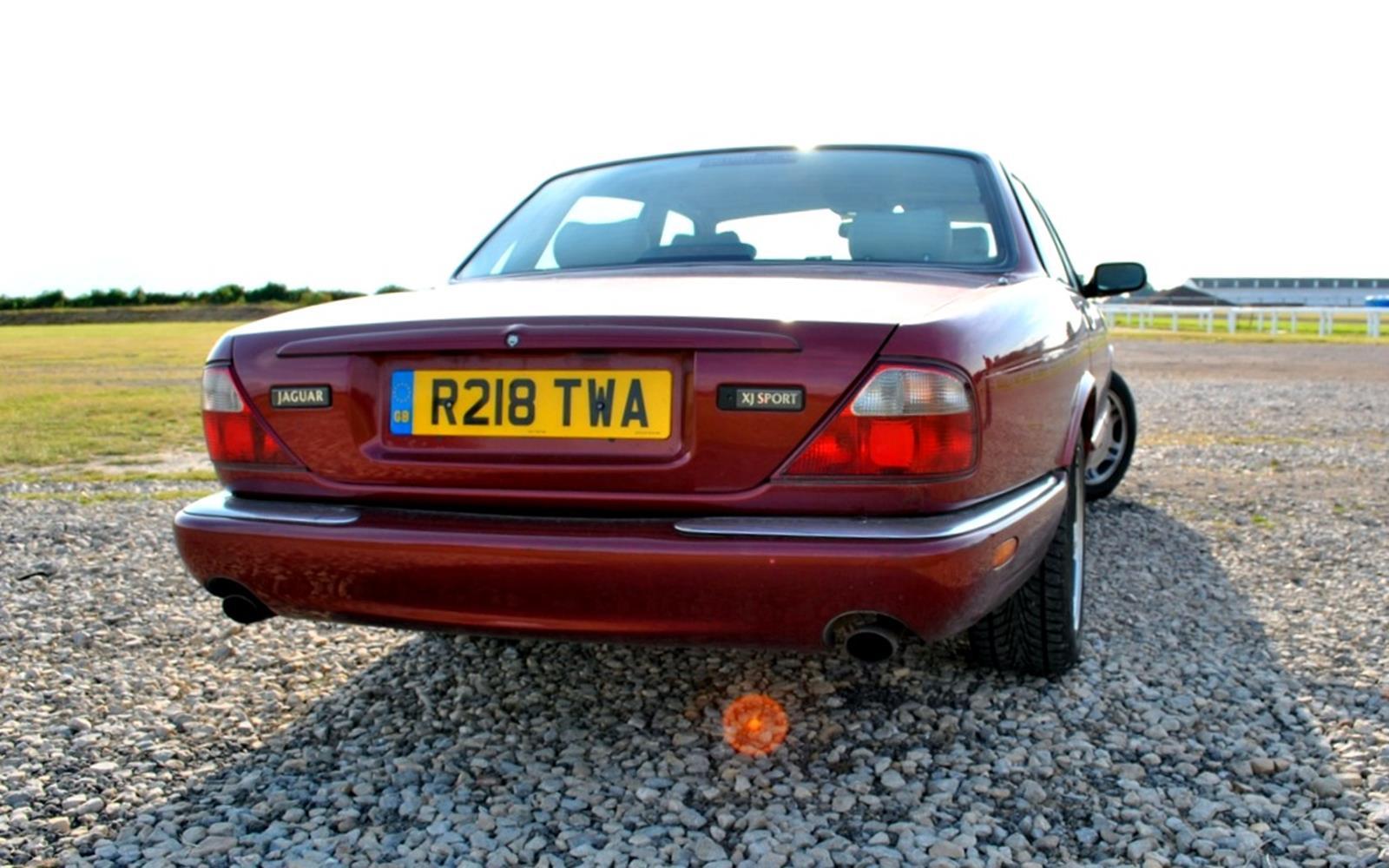 Jaguar XJ8 1998 Rear FrontSeatDriver.co.uk