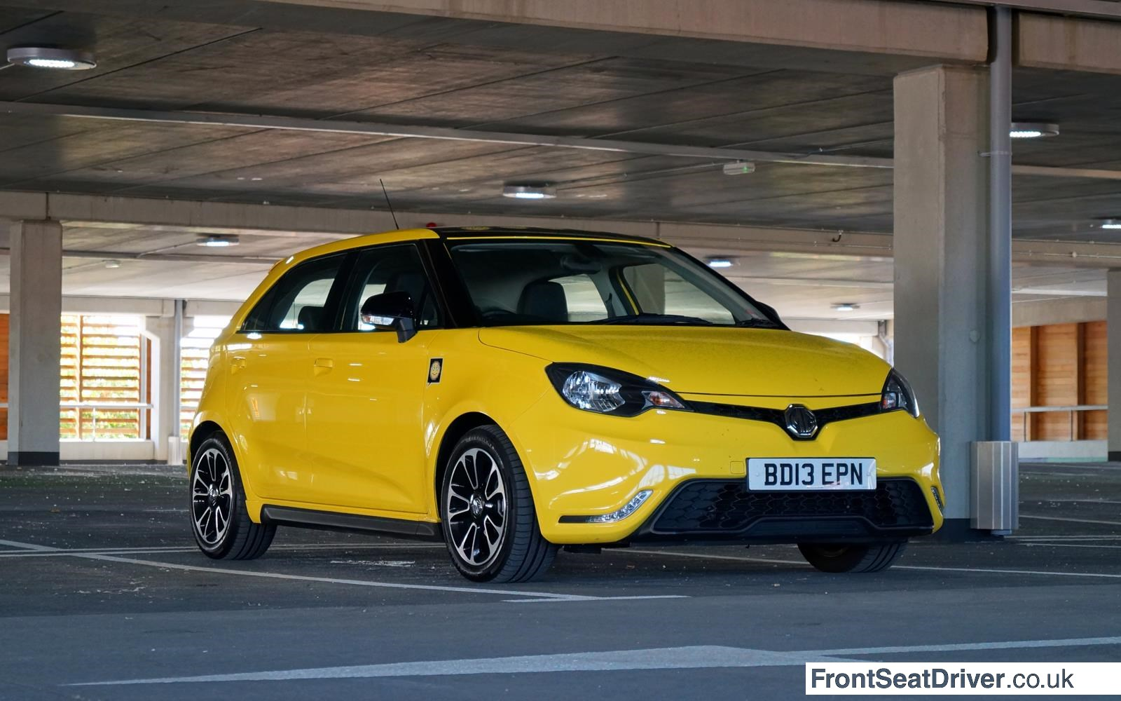 MG 3 2014 Low Front Right Phil Huff FrontSeatDriver.co.uk