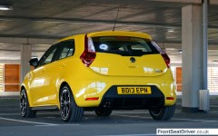 MG 3 2014 Left Rear Phil Huff FrontSeatDriver.co.uk