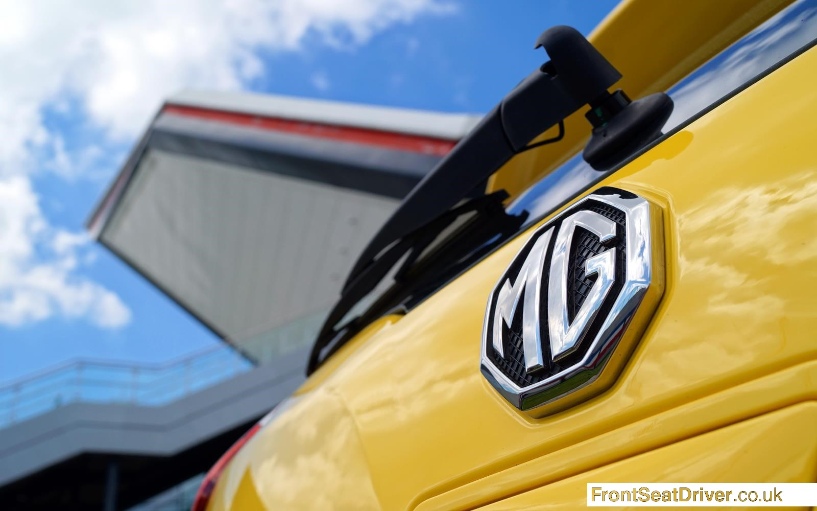 MG 3 2014 Rear Badge Detail Phil Huff FrontSeatDriver.co.uk