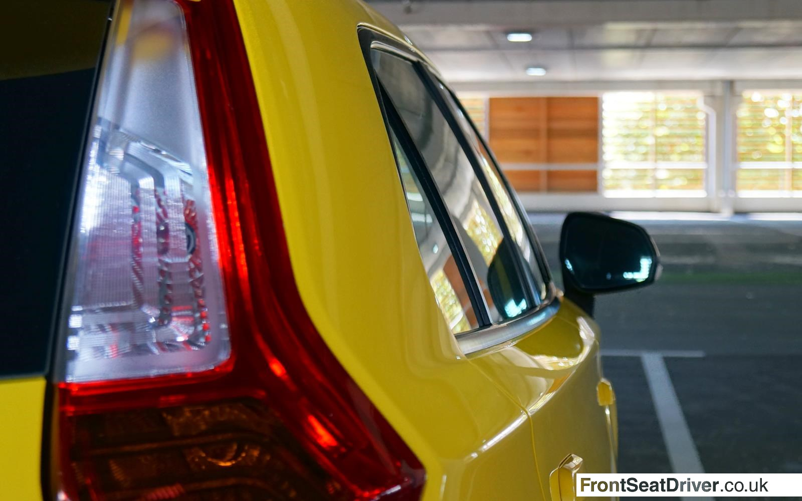MG 3 2014 Rear Light Detail Phil Huff FrontSeatDriver.co.uk