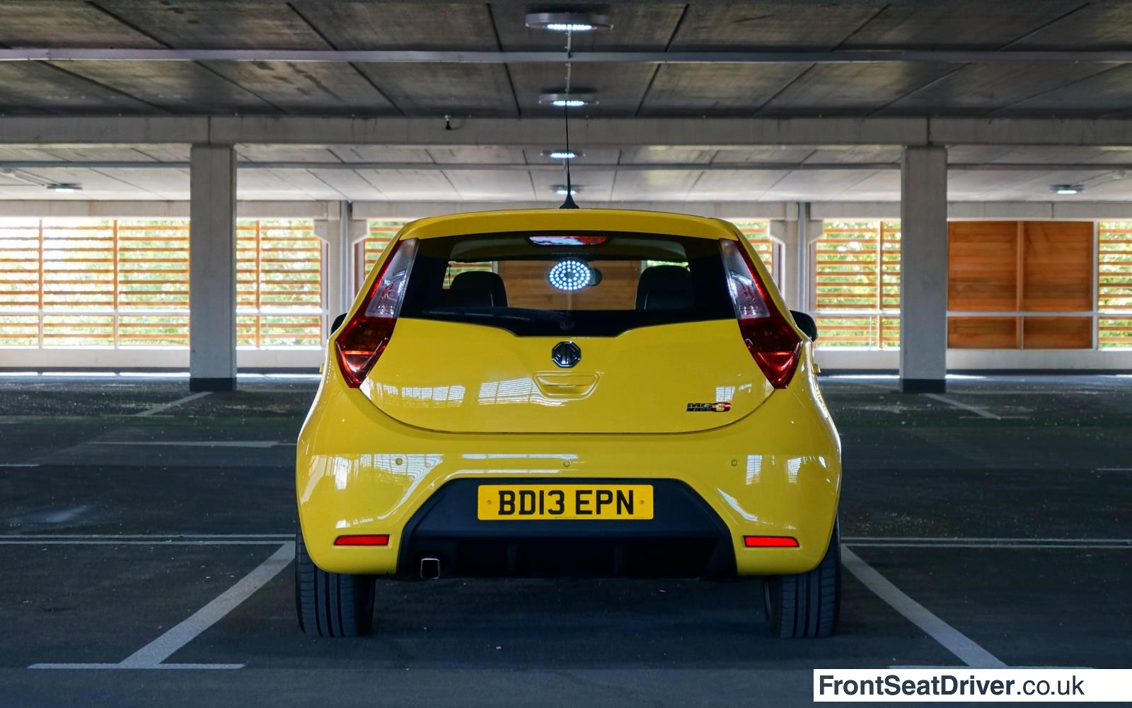 MG 3 2014 Rear Phil Huff FrontSeatDriver.co.uk