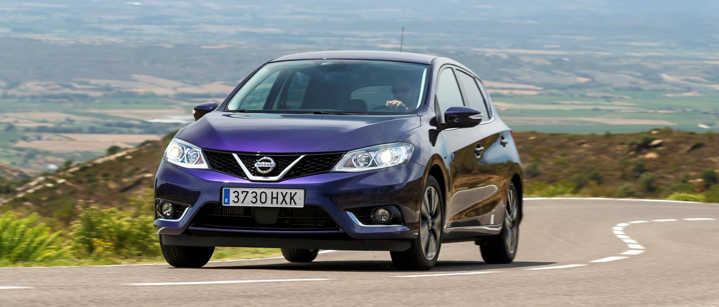 First Drive Nissan Pulsar Front Seat Driver