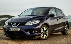 Nissan Pulsar 2014 Front Left Phil Huff FrontSeatDriver.co.uk