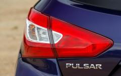 Nissan Pulsar 2014 Rear Light Detail FrontSeatDriver.co.uk