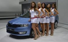 Paris Motor Show 2012 Show Girls FrontSeatDriver.co.uk