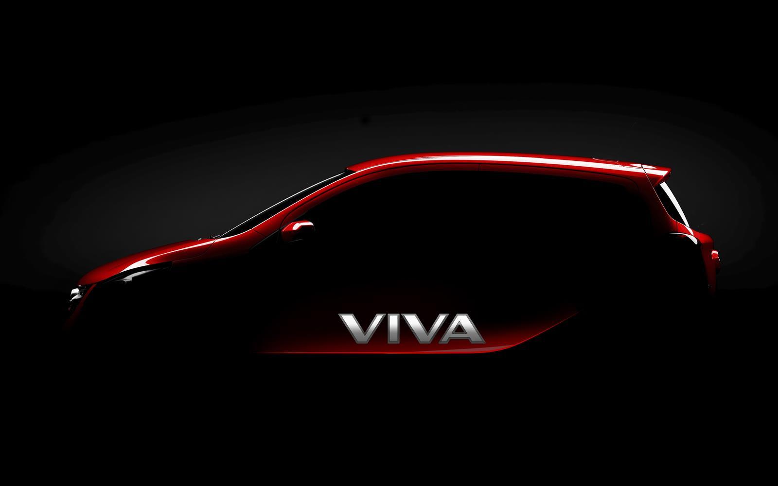 Vauxhall Viva 2014 Teaser FrontSeatDriver.co.uk