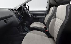 Volkswagen Caddy Black 2014 Interior