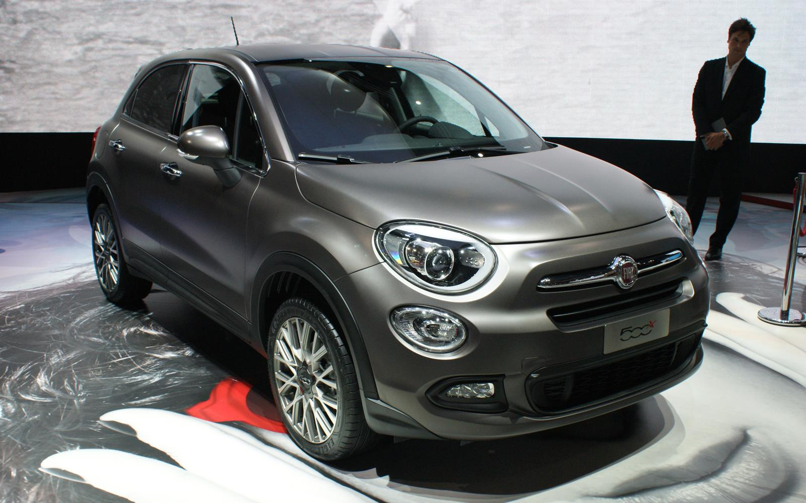 Paris Motor Show 2014 Fiat 500X FrontSeatDriver.co.uk