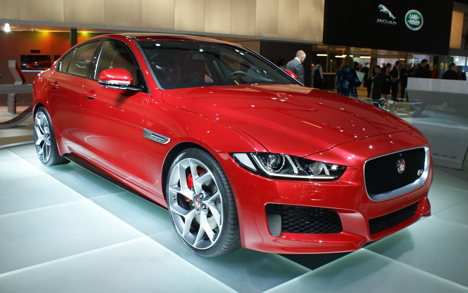 Paris Motor Show 2014 Jaguar XE FrontSeatDriver.co.uk