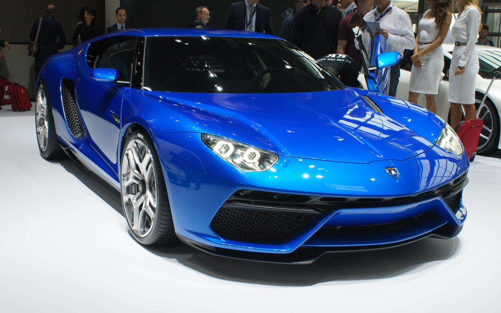 Paris Motor Show 2014 Lamborghini Asterion FrontSeatDriver.co.uk