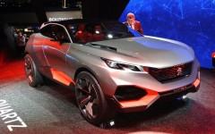 Paris Motor Show 2014 Peugeot Quartz FrontSeatDriver.co.uk