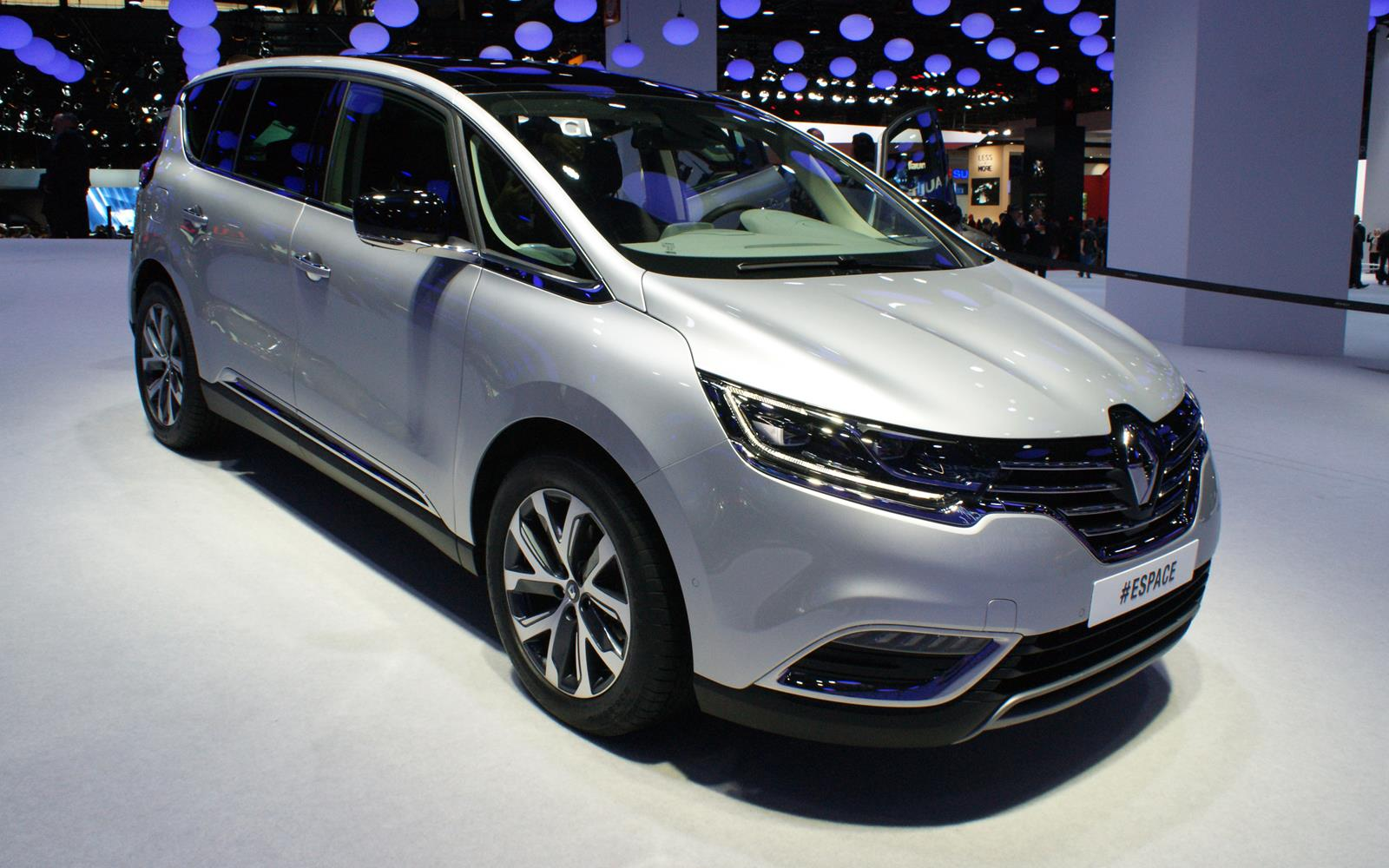 Paris Motor Show 2014 Renault Espace FrontSeatDriver.co.uk
