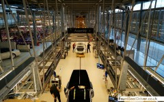 Rolls-Royce 2014 Factory Tour Assembly Line